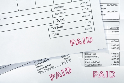 Paying invoices as soon as they are received can ensure you stay on top of payments.