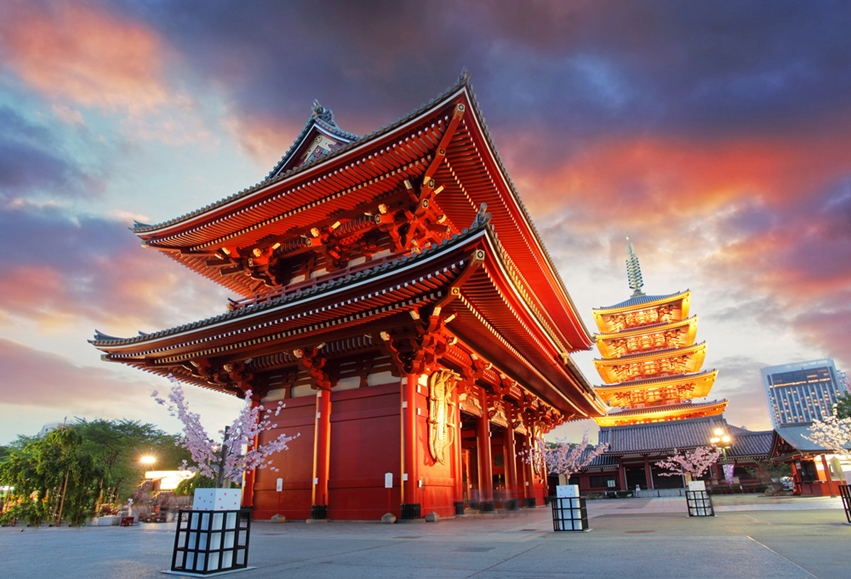Wake up in Tokyo and say goodnight in Kyoto.
