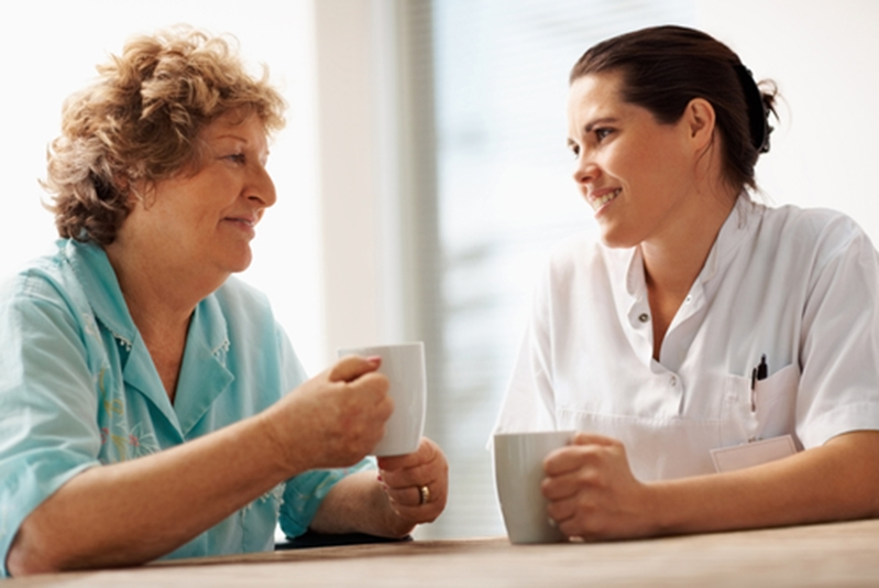 It's okay to ask for help when taking care of an elderly relative.