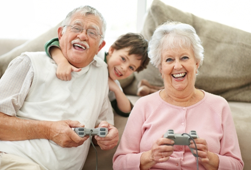 Learning to play a new game will both keep your brain active and give you a new activity to do with the grandchildren.