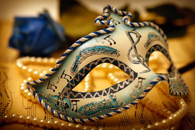 Don your best mask for the Venice Carnival this January.
