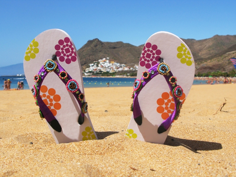 Enjoy the sun on the Canary Islands.
