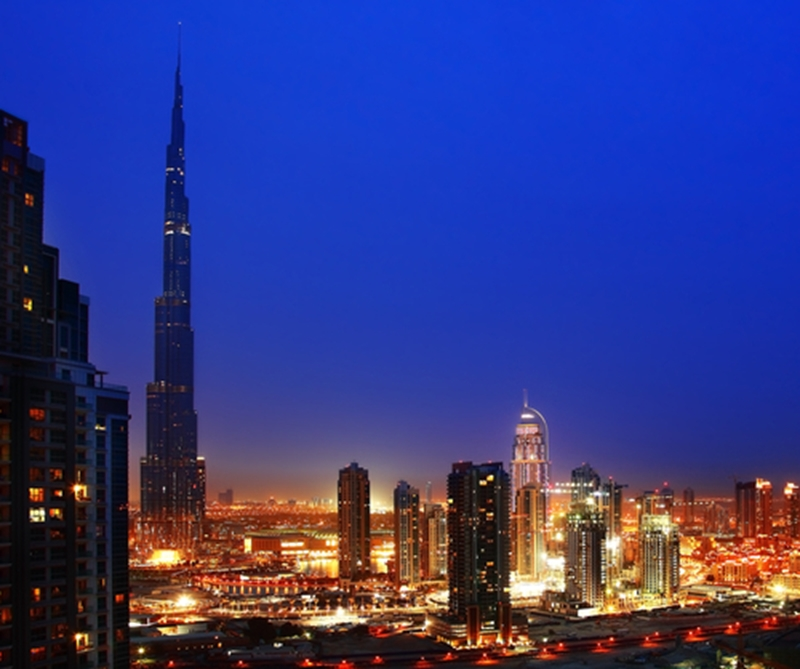 The Burj Khalifa in Dubai is a must-visit for sky high drinks and cuisine.