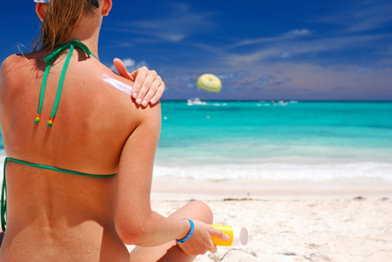 Sunscreen is an important part in protecting your skin from UVR.