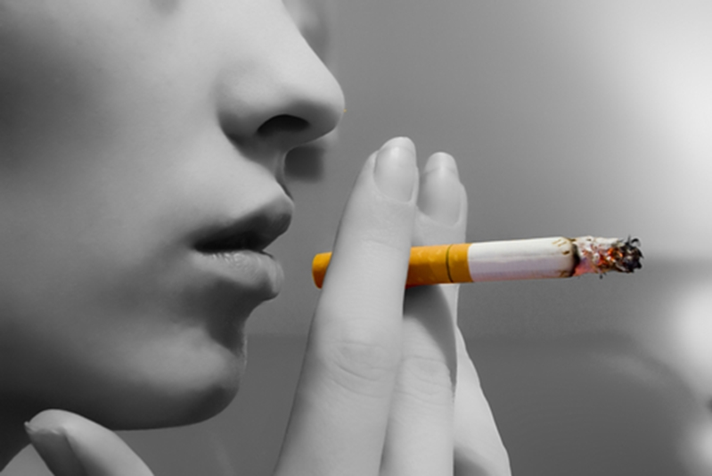 Smoking could be behind the dry mouth you are experiencing.