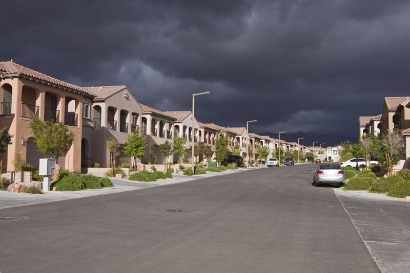 Stormy skies could usher in less safe conditions on a worksite.