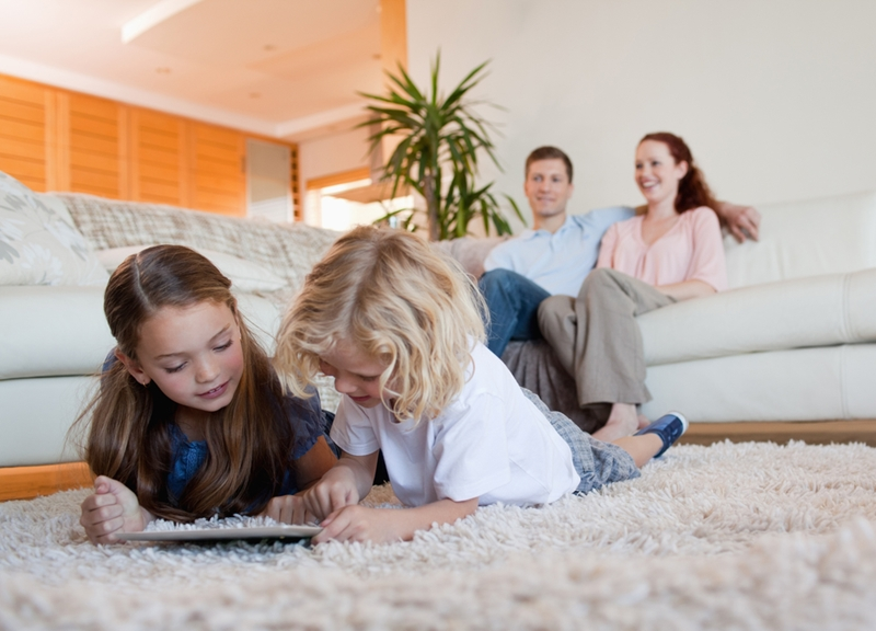 Carpet can harbour allergens.