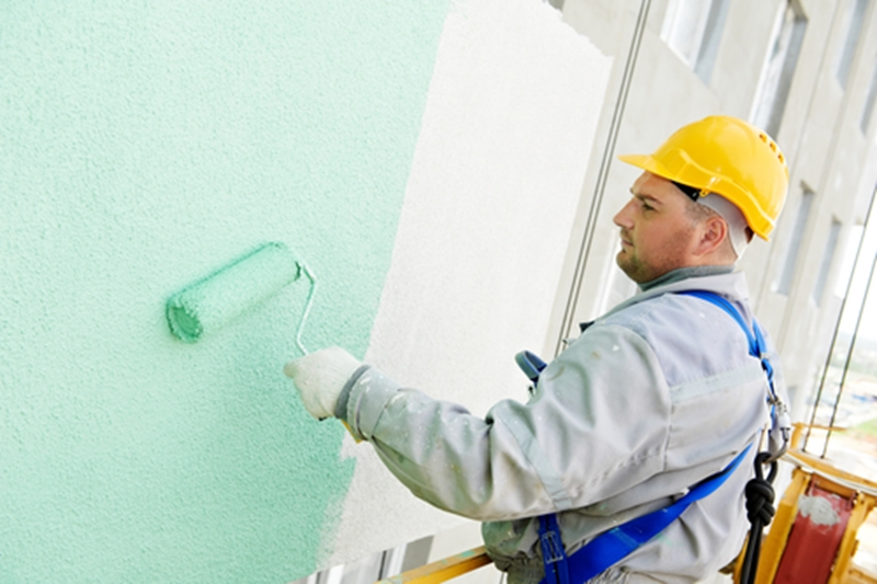 Painters and brush hands want to make the most of warm, dry weather.
