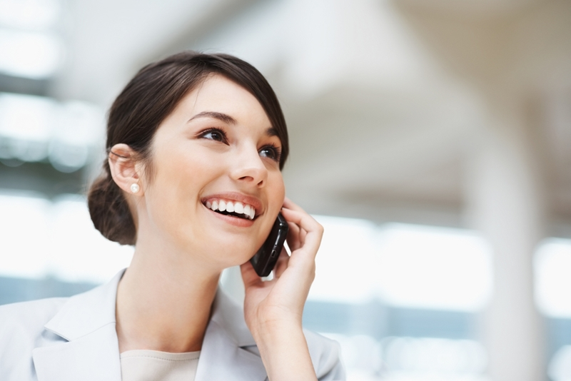 A quick phone call is all it takes to maintain open dialogue with customers.