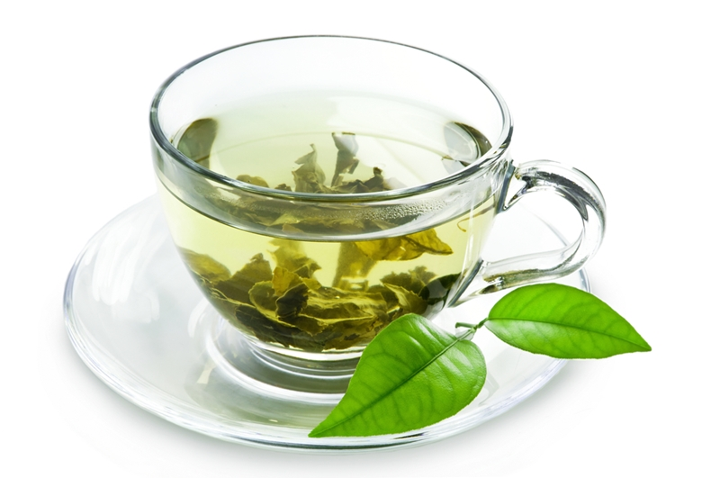 Green tea gets the green light from health specialists.