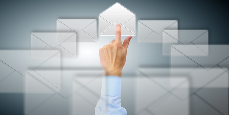 B2B organisations tends to use email and mail direct marketing to communicate with customers.