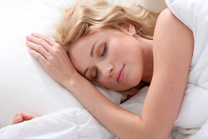 Get a good night sleep before the big day!
