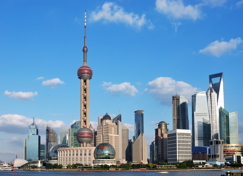 Shanghai was one of the locations Stephen Murray visited on his trip to China.