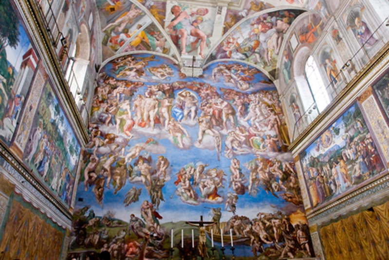 Even if it's a Vatican fresco, any artwork in your SMSF has to be stored.