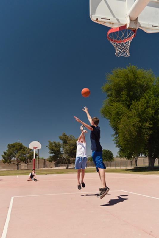 Does your outdoor court need to go?