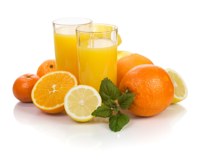Orange juice has been found to boost brain function in the elderly.
