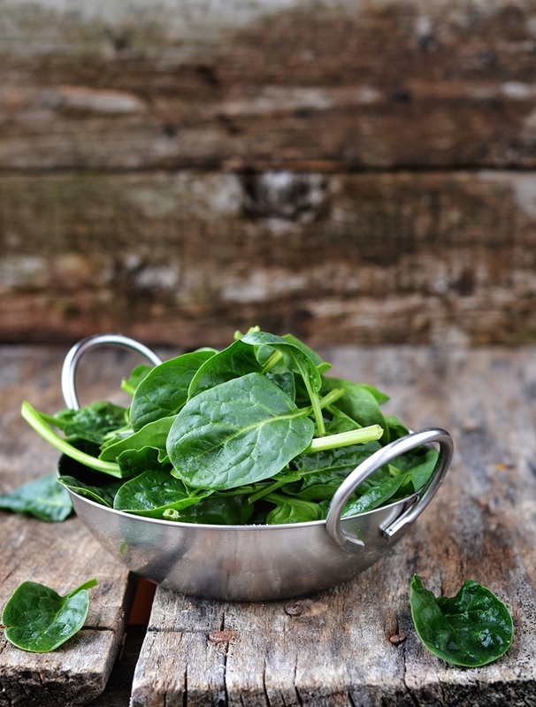 Leafy green vegetables contain high amounts of magnesium so make sure you're consuming a healthy dose.