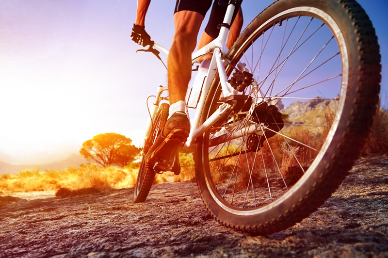 A bicycle accident can result in serious injuries.