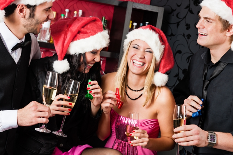 Social occasions over the holidays can be a good time to network.