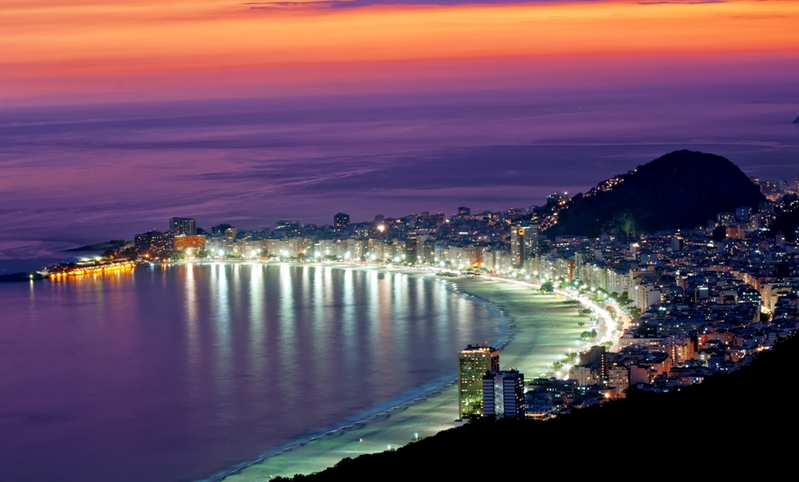 Light up the streets at Carnaval in Brazil.