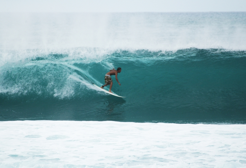 Stay active by surfing Australia's amazing waves.