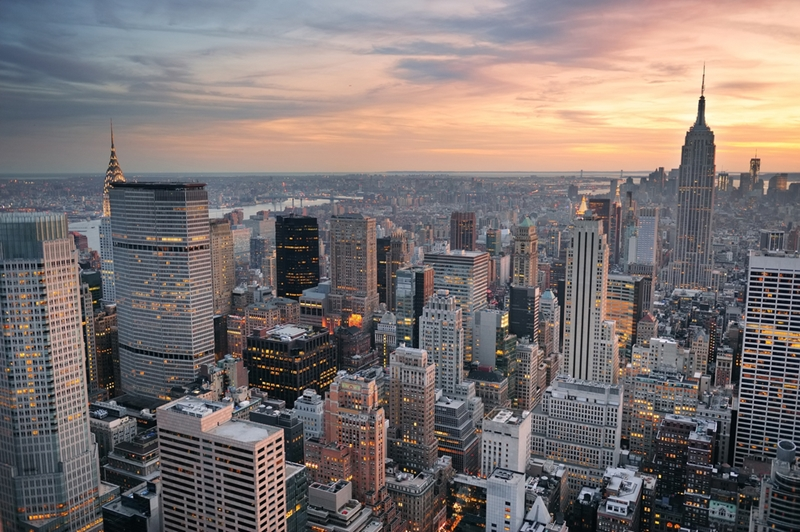 New York is home to some of the world's most inspiring urban architecture.
