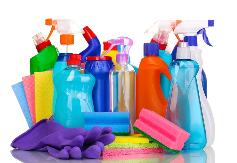 Everyday cleaning products might not be enough to tackle concrete stains.