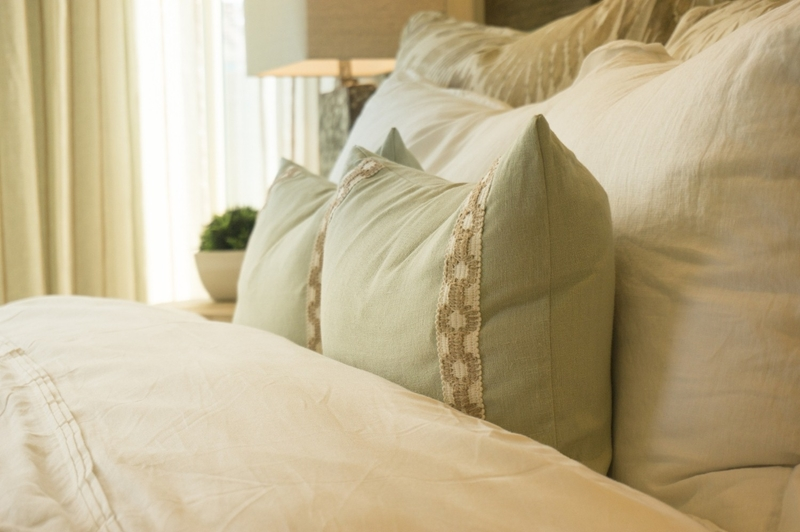 Pillows can help to correct your sleeping position at night.