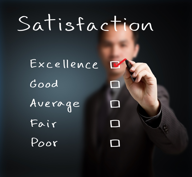 A customer satisfaction survey after an event can be a great way to sustain engagement.
