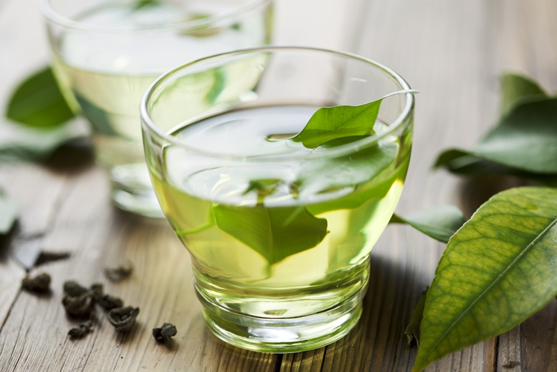 A nice cuppa can soothe your nerves and give your skin a healthy boost.