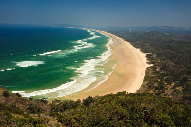 Head to Byron Bay for an authentic Australian adventure.