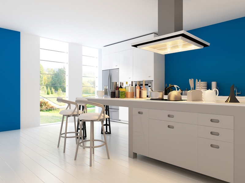 Downlighting can improve the look of any room.