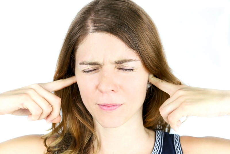 Tinnitus can vary in intensity throughout the day.