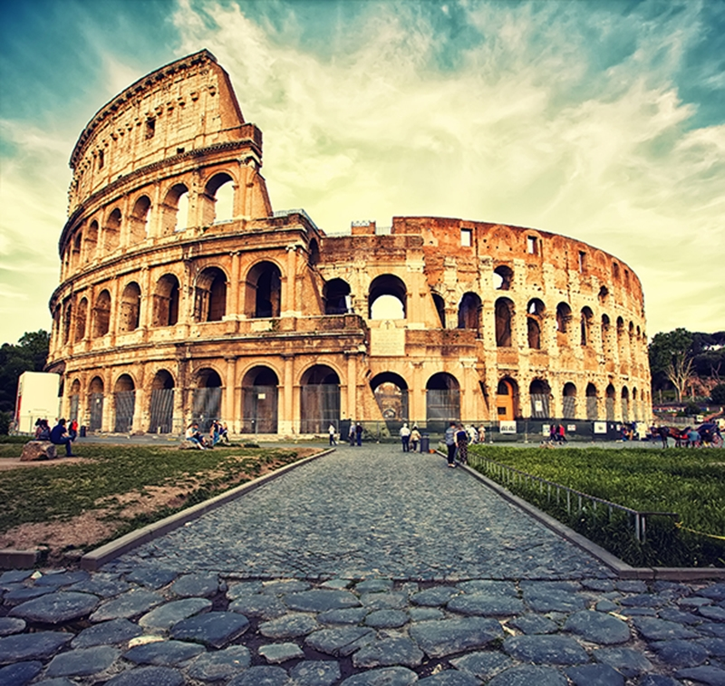 Thousands of years before the Colosseum was built, people were practicing dentistry in Italy.
