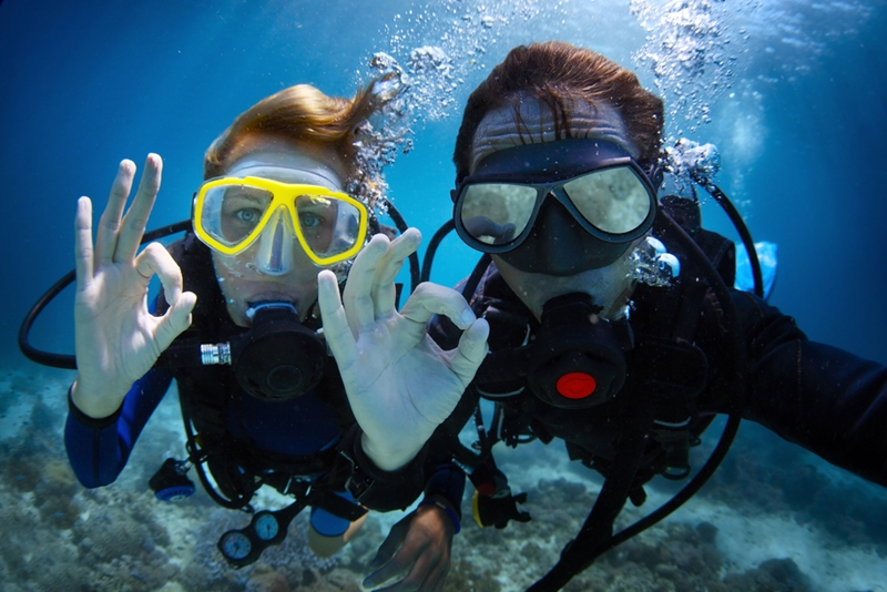 Amed Beach is a brilliant location for keen divers.
