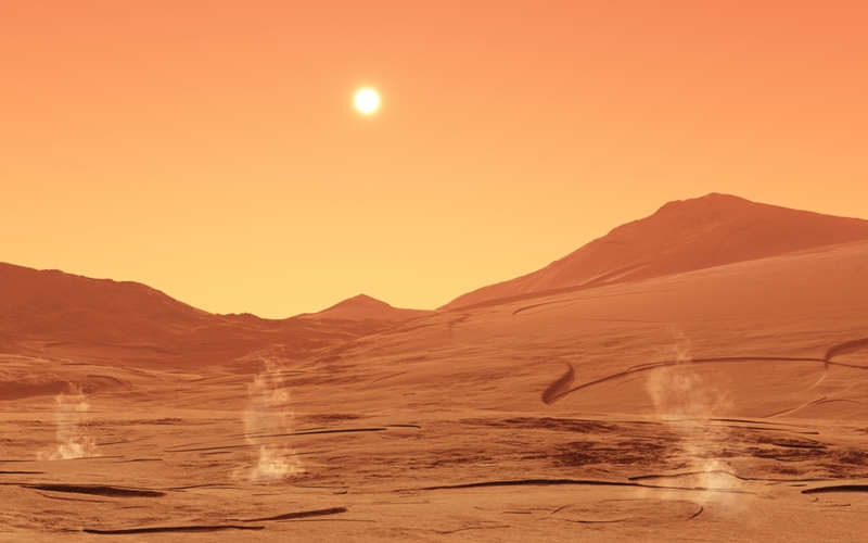 Webforge can help address problems with the low gravity on Mars.