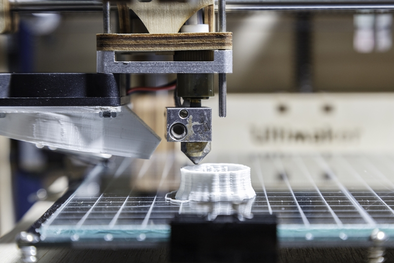 Manufacturing is improving with the help of robotics and 3D printing.