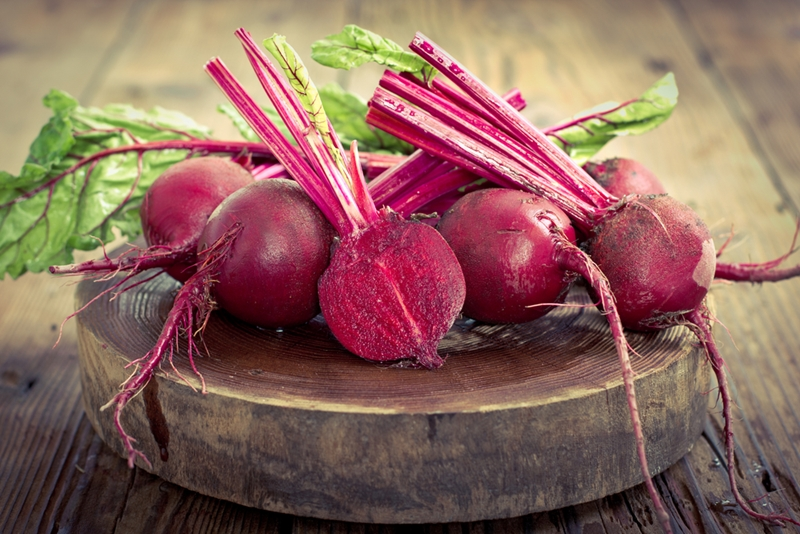 Beetroot is a superfood you might want to consider.