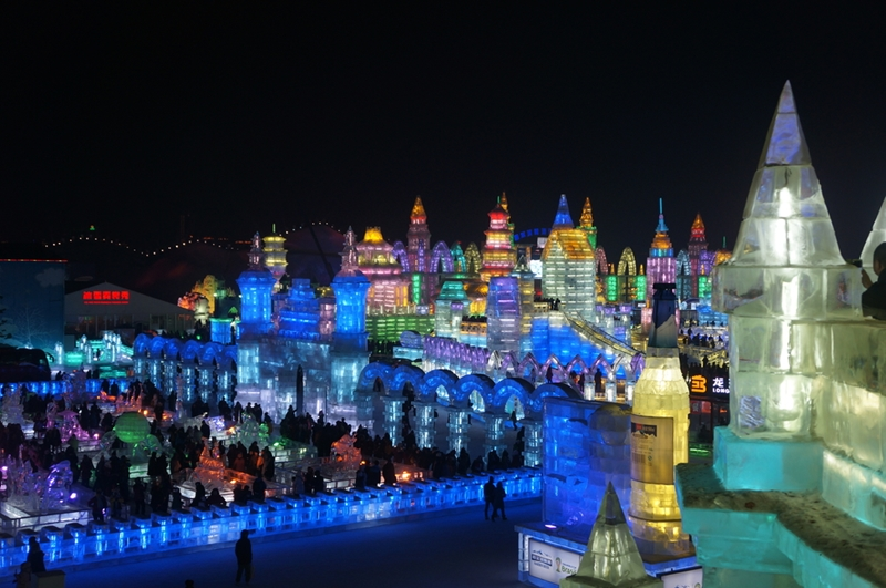 Harbin during the Ice and Snow festival is something out of this world.