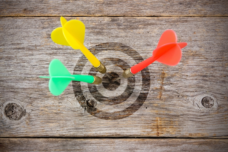 Competitor benchmarking can help you set new targets.