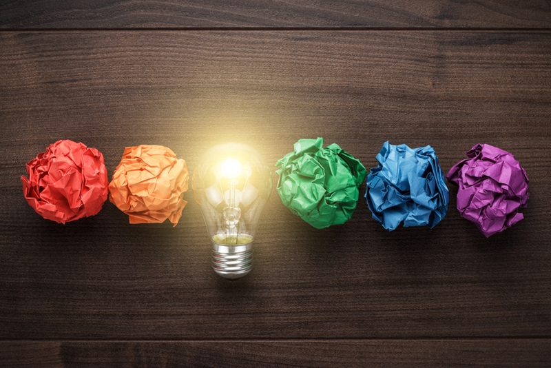 Developing ideas should be a key part of your strategic planning.