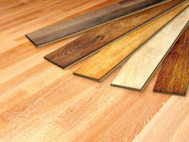 Wooden floors are an great opportunity to showcase natural colour.