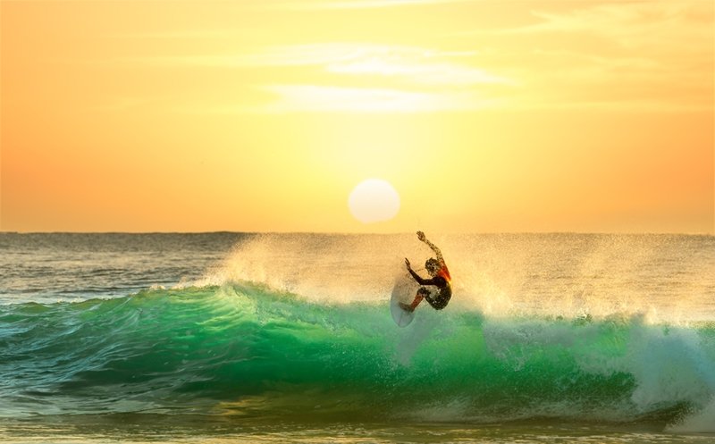 Bali boasts some of the world's best surf.