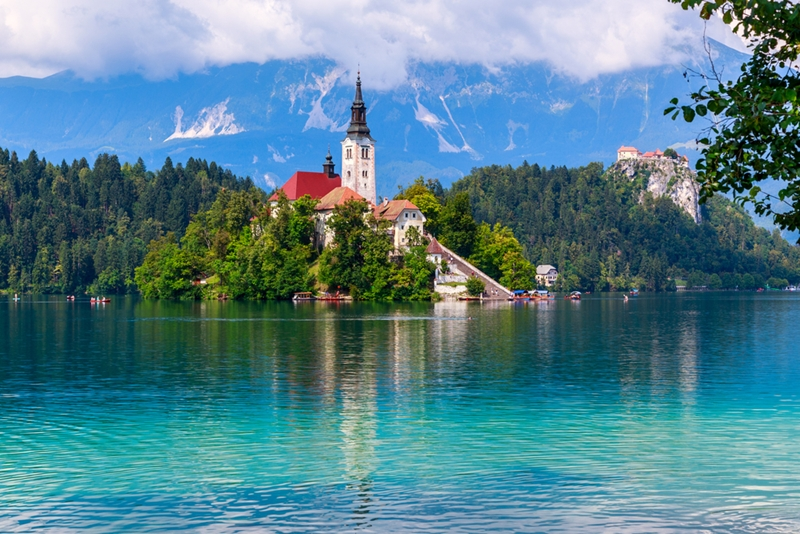 Meet the breathtaking Lake Bled, just a short drive from Ljubljana.