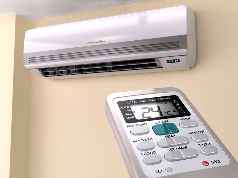 Installing an air conditioner could increase your home's sale price.
