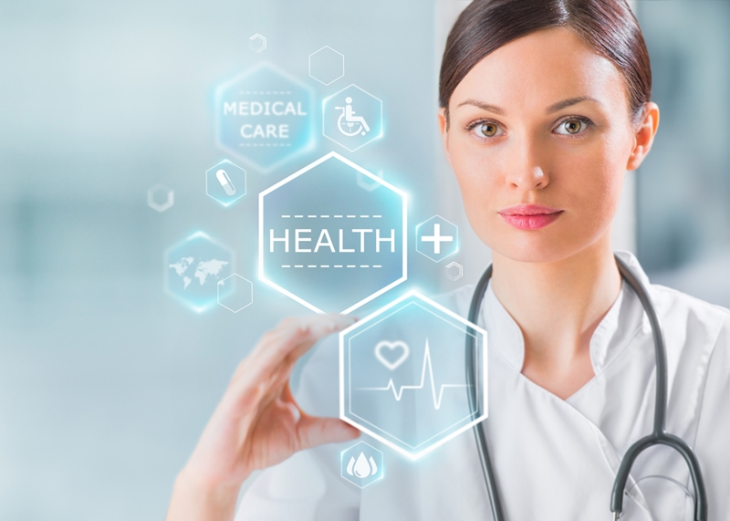 Technology in the healthcare sector is advancing.