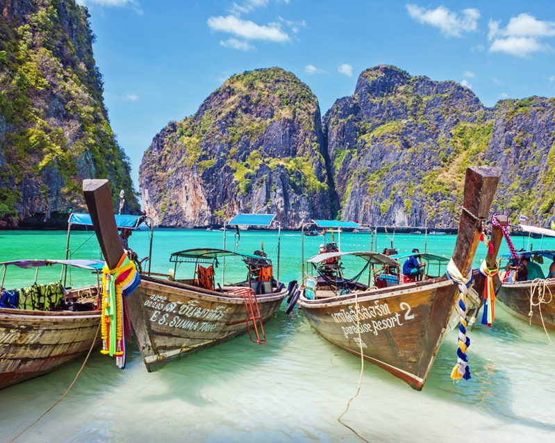 Even Thailand isn't in a party mood right now, you'll still be able to have the time of your life there.