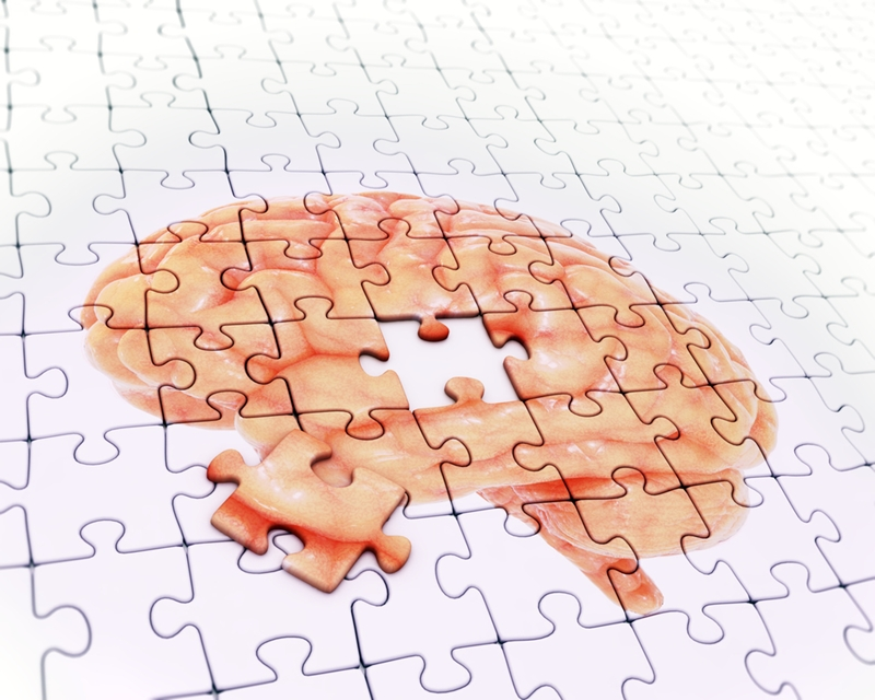 Trouble with simple cognitive tasks like a puzzle could be an early sign of Alzheimer's disease.