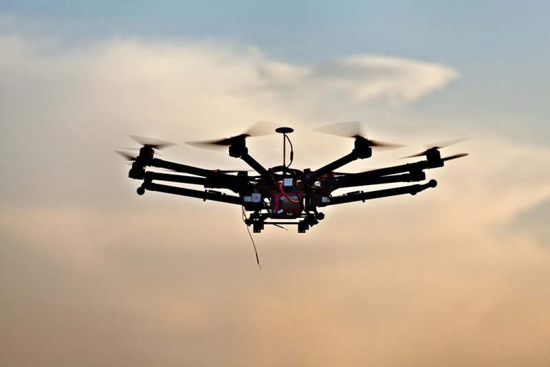Drones are projected to see future use in product delivery.