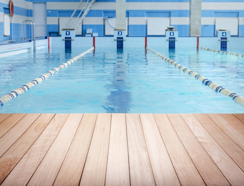 Swimming could complement work done in the gym.